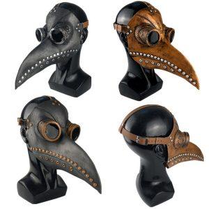 MASCARA Halloween Costume Cosplay Party Bird Doctor Plague Mask Long bico FRETE GRATIS