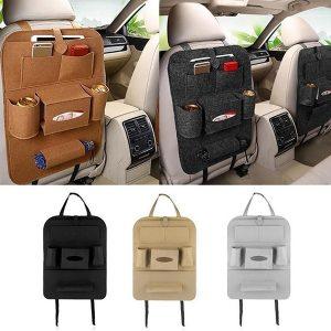 SACO Carro auto assento traseiro saco de armazenamento tronco multi pendurado organizador de bolso FRETE GRATIS