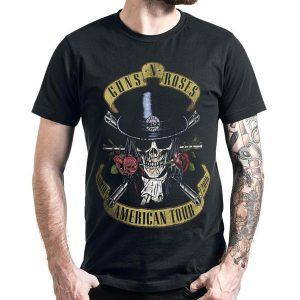 CAMISETA T-shirt dos Guns N 'Roses da forma MTHFKR dos homens FRETE GRATIS