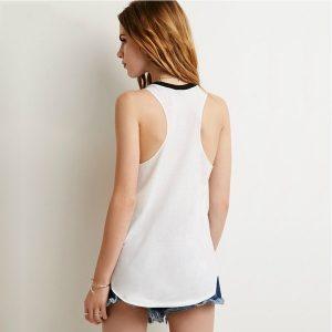 CAMISETA Moda feminina Moda Rolling Stones Colete Camisa Sem Mangas Padrão Estampado T-shirt Regatas FRETE GRATIS