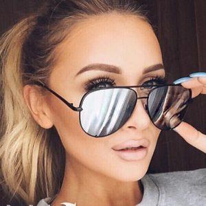 Óculos de sol de verão praia mulheres espelho condução homens óculos de sol de luxo pontos óculos de sol máscaras luneta femme glases FRETE GRATIS