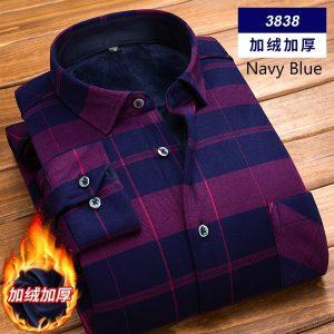 CAMISA Camisa masculina Mens quente manga comprida Casual impresso camisas de vestido formal Plus Size XS-4XL FRETE GRATIS
