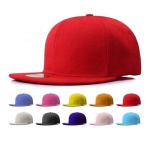 BONE Casual Men Women Black Snapback Hats Unisex Hip-Hop Boné de beisebol ajustável FRETE GRATIS