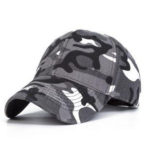 BONE Chapéus de moda Exército exterior Camo Cap Bonés de camuflagem de beisebol Protetor solar Chapéus Boné de beisebol FRETE GRATIS
