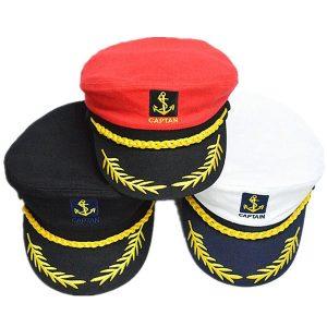 CHAPEU Criativo traje festa marinheiro navio barco capitão chapéu marinha marines almirante cap FRETE GRATIS