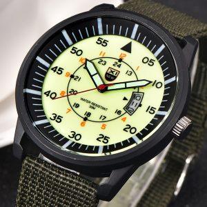 RELOGIO Militar Mens Quartz Army Watch Black Dial Data Luxo Esporte Relógio de pulso phonemol FRETE GRATIS
