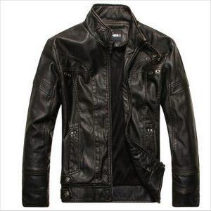 JAQUETA Jaquetas de couro da motocicleta homens jaqueta de couro masculino Jaqueta de couro Bomber Inverno Couro mens gola Outwear Casaco FRETE GRATIS