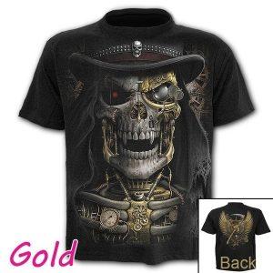 CAMISETA Moda dos homens novos Crânio Impresso 3d Camiseta de Manga Curta O Pescoço Engraçado Deus Morte Gótico Tops FRETE GRATIS