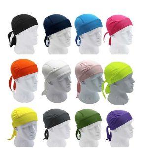 BANDANA Moda Cap Ciclismo Sweatproof Equipe Da Bicicleta Cachecol Coif Bicicleta Bandana Pirata Headband Riding Hood Sports Chapéu Headcloth FRETE GRATIS