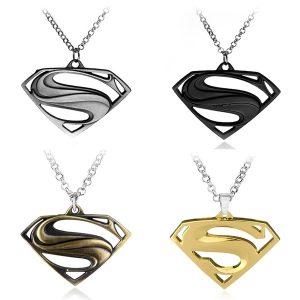 COLAR nova moda homens e mulheres colar, homem aranha, batman superman colar de pingente, presentes criativos, acessórios de jóias FRETE GRATIS