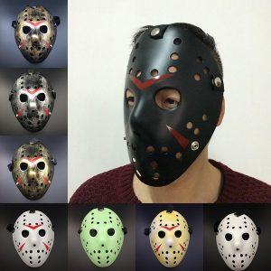 MASCARA Venda quente Halloween Jason Voorhees Máscara Sexta-Feira 13 Filme de Terror Hóquei Traje Prop Masquerade Trajes FRETE GRATIS