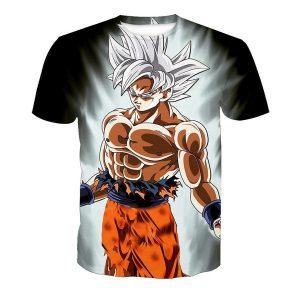 CAMISETA Camiseta Masculina 3D Seven Dragon Ball Estampado Camiseta de Manga Curta FRETE GRATIS