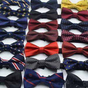 GRAVATA Presente Moda Festa de Casamento dos homens Gravata borboleta Camisa de Vestido Gravata Smoking Ajustável Gravata borboleta Gravata Formal (18 cores) FRETE GRATIS