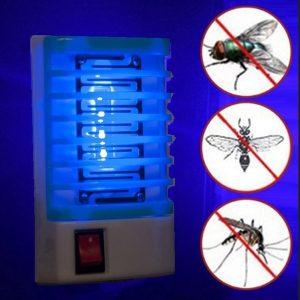 MOQUITO Led Soquete Elétrico Mosquito Repelente de Insetos Lâmpada Mosca Inseto Armadilha Assassino Zapper Casa Vida Interior Repelente de Mosquitos Repelente Luzes da Lâmpada FRETE GRATIS