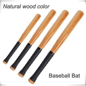 BASTÃO DEFESA ZYCASD Bola De Madeira 54/64/74/84 cm De madeira Ao Ar Livre taco de beisebol de madeira Baseball Sports Activities Bat FRETE GRATIS