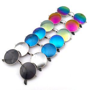 OCULOS Nova moda unisex estilo vintage frame lente retro rodada óculos retro óculos óculos FRETE GRATIS