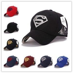 BONE Alta qualidade impressionante Cap Superman Snapback Hat, barato Baseball Steampunk filme crochet caps Snapbacks Superman chapéus, chapéus de basquete para homens mulheres Cap FRETE GRATIS