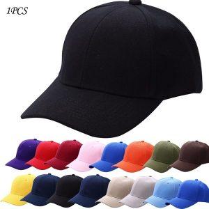 BONE 11 cores mujer unisex algodão suave viagem sombrinha chapéu preto casual lona golf cap viagens cor sólida boné de beisebol FRETE GRATIS