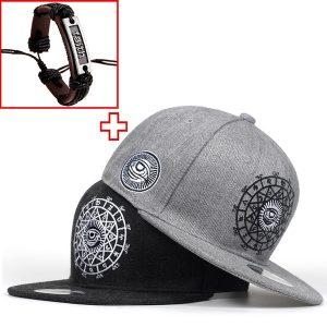 BONE Homens e mulheres casuais snapbacks olho bordado cap chapéu de hip hop boné de beisebol garros FRETE GRATIS