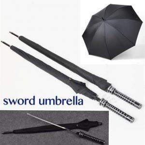 ESPADA Guarda-chuva Espada Afiada Guarda-chuva Guarda-chuva Longo Punho Guarda-chuva Personalidade Criativa Espada Guarda-chuva dos homens Espada Samurai FRETE GRATIS