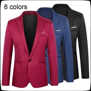 TERNO BLEZER Moda Masculina Jaqueta Moda Blazer 8 Cores Casaco Terno Top Melhor Homem FRETE GRATIS