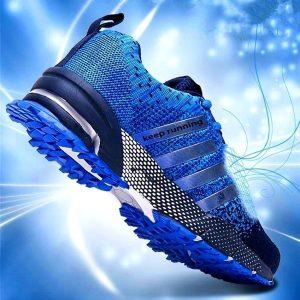 TENIS Nova tendência tênis de corrida dos homens tênis respirável air mesh shoes eva atlético sapatos esporte runing shoes zapatillas hombre FRETE GRATIS