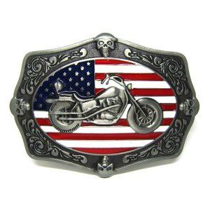 FIVELA American Flag Cool Motorcycle Skeleton Belt Buckle Biker Skull Western CowboWww.DUGEZZU.Com.Br ANTECIPE SUAS COMPRAS DEMORA ALGUNS DIAS PRA VOCE RECEBER FIQUE A VONTADE E BOAS COMPRAS …FRETE GRATISy
