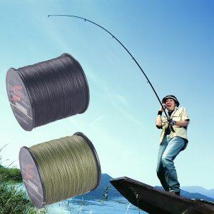 LINHA ANZOL PESCA Pesca ao ar livre 4 tece 100m por rolo Linha de pesca trançada com multifilamentos PE, 6-100LB. (Cor: aleatória) Www.DUGEZZU.Com.Br ANTECIPE SUAS COMPRAS DEMORA ALGUNS DIAS PRA VOCE RECEBER FIQUE A VONTADE E BOAS COMPRAS …FRETE GRATIS