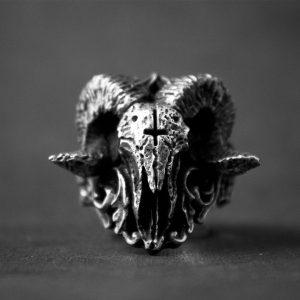 ANEL NOVO Único punk gótico satânico demônio anel de caveira sorath homens anel de aço inoxidável motociclista baphomet jóias presente para ele Www.DUGEZZU.Com.Br ANTECIPE SUAS COMPRAS DEMORA ALGUNS DIAS PRA VOCE RECEBER FIQUE A VONTADE E BOAS COMPRAS …FRETE GRATIS