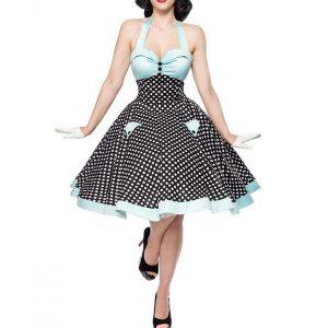 VESTIDO Sexy Halter Party Dress Summer 2019 Retro Polka Dot Hepburn Vintage 50s 60s Pin Up Rockabilly Vestidos Robe Elegante Midi Vestido Www.DUGEZZU.Com.Br ANTECIPE SUAS COMPRAS DEMORA ALGUNS DIAS PRA VOCE RECEBER FIQUE A VONTADE E BOAS COMPRAS …FRETE GRATIS