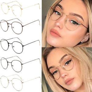 OCULOS Armação de óculos redondos Retro Feminino Olho Óculos Óculos Óculos Www.DUGEZZU.Com.Br ANTECIPE SUAS COMPRAS DEMORA ALGUNS DIAS PRA VOCE RECEBER FIQUE A VONTADE E BOAS COMPRAS …FRETE GRATIS