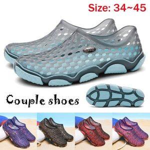 TENIS (34-45) NEW Summer Couple Shoes Beach Shoes Oco Out Flat Shoes Chinelo ao ar livre Www.DUGEZZU.Com.Br ANTECIPE SUAS COMPRAS DEMORA ALGUNS DIAS PRA VOCE RECEBER FIQUE A VONTADE E BOAS COMPRAS …FRETE GRATIS