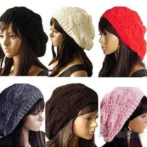 TOCA Moda Feminina Lady Boina Trançado Baggy Beanie Crochet Hat Cap Ski Knitted Www.DUGEZZU.Com.Br ANTECIPE SUAS COMPRAS DEMORA ALGUNS DIAS PRA VOCE RECEBER FIQUE A VONTADE E BOAS COMPRAS …FRETE GRATIS EMPRESA Facebook.Com/Dugezzurockshop/ QUER VER TODOS OS PRODUTOS ANTES DE COMPRAR Www.Facebook.Com/Dugezzu/Photos_all………. FRETE GRATIS