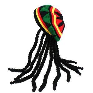 TOCA Chapéu Rasta jamaicano colorido Bob Marley de malha Cap peruca Caribe fantasia Www.DUGEZZU.Com.Br ANTECIPE SUAS COMPRAS DEMORA ALGUNS DIAS PRA VOCE RECEBER FIQUE A VONTADE E BOAS COMPRAS …FRETE GRATIS EMPRESA Facebook.Com/Dugezzurockshop/ QUER VER TODOS OS PRODUTOS ANTES DE COMPRAR Www.Facebook.Com/Dugezzu/Photos_all………. FRETE GRATIS