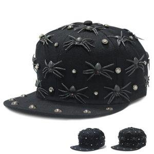BONE Spider Snapback Hip Hop Hat Punk Boy Girl Spider Studded Button Buckle Cap Hat Www.DUGEZZU.Com.Br ANTECIPE SUAS COMPRAS DEMORA ALGUNS DIAS PRA VOCE RECEBER FIQUE A VONTADE E BOAS COMPRAS …FRETE GRATIS