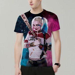 CAMISETA Nova Moda Engraçado 3D Harley Quinn Jock Impresso T-shirt Rua T-shirt dos homens Top Www.DUGEZZU.Com.Br ANTECIPE SUAS COMPRAS DEMORA ALGUNS DIAS PRA VOCE RECEBER FIQUE A VONTADE E BOAS COMPRAS …FRETE GRATIS