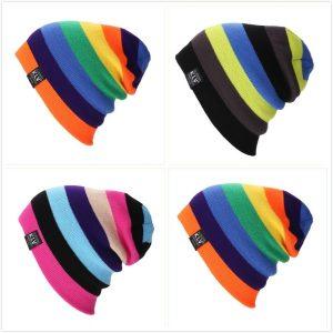 TOCA Multicolor Stitching Woolen Hat Autumn and Winter Warm Ski Hat Knitted Hat Hip Hop Hat Rainbow Hat for Men and Women Www.DUGEZZU.Com.Br ANTECIPE SUAS COMPRAS DEMORA ALGUNS DIAS PRA VOCE RECEBER FIQUE A VONTADE E BOAS COMPRAS …FRETE GRATIS EMPRESA Facebook.Com/Dugezzurockshop/ QUER VER TODOS OS PRODUTOS ANTES DE COMPRAR Www.Facebook.Com/Dugezzu/Photos_all………. FRETE GRATIS