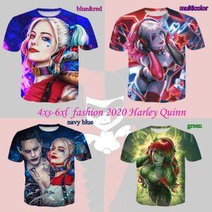 CAMISETA Moda 4XS-6XL Harley Quinn Camiseta 3d Impressão Tees Legal Novidade Casais Casuais Roupas Unissex Www.DUGEZZU.Com.Br ANTECIPE SUAS COMPRAS DEMORA ALGUNS DIAS PRA VOCE RECEBER FIQUE A VONTADE E BOAS COMPRAS …FRETE GRATIS