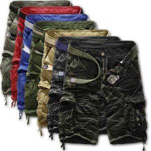 BERMUDA Summer Men's Cargo Shorts Casual Camouflage Loose Shorts Www.DUGEZZU.Com.Br ANTECIPE SUAS COMPRAS DEMORA ALGUNS DIAS PRA VOCE RECEBER FIQUE A VONTADE E BOAS COMPRAS …FRETE GRATIS