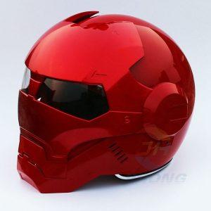CAPACETE NOVO vermelho brilhante brilhante MASEI capacete da motocicleta IRONMAN homem de ferro capacete meio capacete rosto aberto capacete casque motocross 610 Www.DUGEZZU.Com.Br ANTECIPE SUAS COMPRAS DEMORA ALGUNS DIAS PRA VOCE RECEBER FIQUE A VONTADE E BOAS COMPRAS …FRETE GRATIS