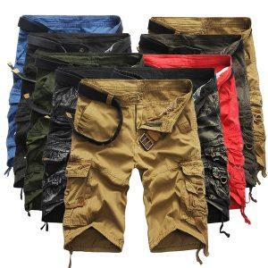 BERMUDA Shorts clássicos dos homens do verão calças casuais multi-bolso calças de verão macacões soltos Www.DUGEZZU.Com.Br ANTECIPE SUAS COMPRAS DEMORA ALGUNS DIAS PRA VOCE RECEBER FIQUE A VONTADE E BOAS COMPRAS …FRETE GRATIS