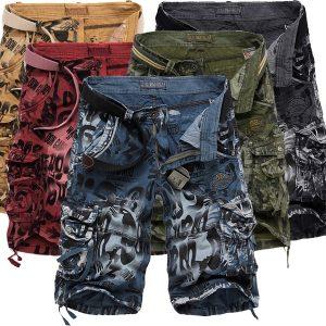 BERMUDA Homens verão calças de camuflagem macacões soltos shorts de carga calças homens shorts de impressão Www.DUGEZZU.Com.Br ANTECIPE SUAS COMPRAS DEMORA ALGUNS DIAS PRA VOCE RECEBER FIQUE A VONTADE E BOAS COMPRAS …FRETE GRATIS