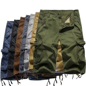 BERMUDA Summer Explosion Short Pants Men Fashion Beach Menfive Pants Influx of Men Multi-pocket Pants Www.DUGEZZU.Com.Br ANTECIPE SUAS COMPRAS DEMORA ALGUNS DIAS PRA VOCE RECEBER FIQUE A VONTADE E BOAS COMPRAS …FRETE GRATIS