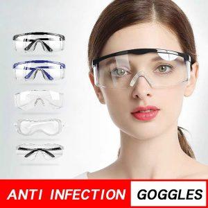 OCULOS DE PROTEÇÃO Limpar Anti Poeira Óculos de Segurança Óculos de Proteção para os Olhos Anti Poluição Óculos Anti-splash para Laboratório de Fábrica Trabalhando Óculos Prevenção de Coronavírus Www.DUGEZZU.Com.Br ANTECIPE SUAS COMPRAS DEMORA ALGUNS DIAS PRA VOCE RECEBER FIQUE A VONTADE E BOAS COMPRAS …FRETE GRATIS
