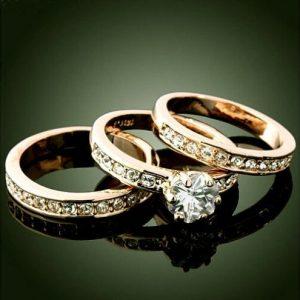 ALIANÇA 3-em-1 / set 18 K Ouro Amarelo GP Zirconia Charm Wedding Band Anéis Jóias sz6-10 Www.DUGEZZU.Com.Br ANTECIPE SUAS COMPRAS DEMORA ALGUNS DIAS PRA VOCE RECEBER FIQUE A VONTADE E BOAS COMPRAS …FRETE GRATIS                      EMPRESA facebook.com/dugezzurockshop/ QUER VER TODOS OS PRODUTOS ANTES DE COMPRAR www.facebook.com/dugezzu/photos_all………. FRETE GRATIS   Comprar em www.DUGEZZU.com.br ou no seu CELULAR ou AQUI na LOJA