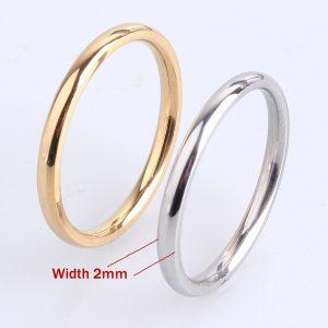 Aliança de casamento em aço inoxidável prata e ouro rosa com ajuste simples Largura do anel 2 mm (tamanho: 3/4/5/6/7/8/9/10/10) Www.DUGEZZU.Com.Br ANTECIPE SUAS COMPRAS DEMORA ALGUNS DIAS PRA VOCE RECEBER FIQUE A VONTADE E BOAS COMPRAS …FRETE GRATIS                      EMPRESA facebook.com/dugezzurockshop/ QUER VER TODOS OS PRODUTOS ANTES DE COMPRAR www.facebook.com/dugezzu/photos_all………. FRETE GRATIS   Comprar em www.DUGEZZU.com.br ou no seu CELULAR ou AQUI na LOJA