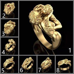 ANEL Moda feminina 18 K anel de Casamento de ouro Beijando Amantes Forma Jóias de Noivado Presente de Aniversário Para O Amante Www.DUGEZZU.Com.Br ANTECIPE SUAS COMPRAS DEMORA ALGUNS DIAS PRA VOCE RECEBER FIQUE A VONTADE E BOAS COMPRAS …FRETE GRATIS                      EMPRESA facebook.com/dugezzurockshop/ QUER VER TODOS OS PRODUTOS ANTES DE COMPRAR www.facebook.com/dugezzu/photos_all………. FRETE GRATIS   Comprar em www.DUGEZZU.com.br ou no seu CELULAR ou AQUI na LOJA