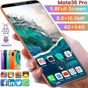 CELULAR  Mais Novo Smartphone mate36 pro Telefone Inteligente Telefone Móvel android phone 5 / 5.8 inch Tela Cheia Android 9.1 Sistema 4 + 64G Www.DUGEZZU.Com.Br ANTECIPE SUAS COMPRAS DEMORA ALGUNS DIAS PRA VOCE RECEBER FIQUE A VONTADE E BOAS COMPRAS …FRETE GRATIS                      EMPRESA facebook.com/dugezzurockshop/ QUER VER TODOS OS PRODUTOS ANTES DE COMPRAR www.facebook.com/dugezzu/photos_all………. FRETE GRATIS   Comprar em www.DUGEZZU.com.br ou no seu CELULAR ou AQUI na LOJA