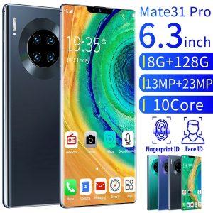 CELULAR Novo smartphone Mate31pro 6.3 com reconhecimento de rosto de 8 + 128 GB 4G / 5G Smartphone Dual Sim Cards Bluetooth Wifi Camera Mobile Phone Android 10.0Ten Core  Www.DUGEZZU.Com.Br ANTECIPE SUAS COMPRAS DEMORA ALGUNS DIAS PRA VOCE RECEBER FIQUE A VONTADE E BOAS COMPRAS …FRETE GRATIS                      EMPRESA facebook.com/dugezzurockshop/ QUER VER TODOS OS PRODUTOS ANTES DE COMPRAR www.facebook.com/dugezzu/photos_all………. FRETE GRATIS   Comprar em www.DUGEZZU.com.br ou no seu CELULAR ou AQUI na LOJA