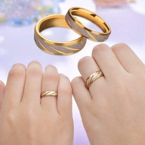 ALIANÇA Padrão de onda dourada anel de casamento anel casal 1pcs Www.DUGEZZU.Com.Br ANTECIPE SUAS COMPRAS DEMORA ALGUNS DIAS PRA VOCE RECEBER FIQUE A VONTADE E BOAS COMPRAS …FRETE GRATIS                      EMPRESA DUGEZZU.com.br QUER VER TODOS OS PRODUTOS ANTES DE COMPRAR www.facebook.com/dugezzu/photos_all………. FRETE GRATIS   Comprar em www.DUGEZZU.com.br ou no seu CELULAR ou AQUI na LOJA